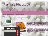 Parthas Rhapsody Food for Soul