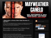 ~Stream14 Sept. 2013 Mayweather vs Canelo Live