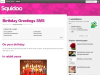 Birthday Greetings SMS