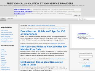 Free Voip Calls