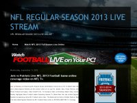 NFL REGULAR SEASON 2013 LIVE STREAM