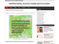 Inspirational Quotes Poems Motivational