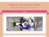 Makeup and Fashion Portal