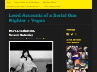 Lewd Accounts of a Serial One Nighter + Vegas