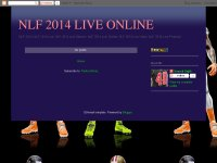 NLF 2014 LIVE ONLINE