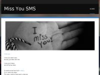 Miss you sms
