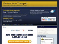 Auto Transport Rates - Nationwide Auto Transport