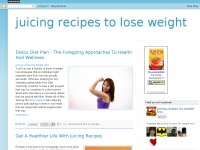 Are you looking for juice recipes for weight loss