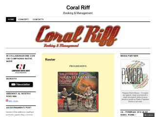 Coral Riff Booking, Management, Eventi