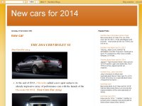 New Cars for 2014