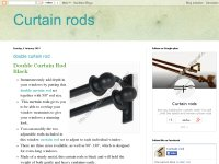 Curtain rods,Double Curtain Rod