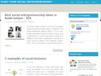 Start Your Social Entrepreneurship