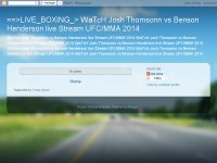 ==>LIVE_BOXING_> WaTcH Josh Thomsonn vs Benson Hen