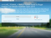==>LIVE_TENNIS_> WaTcH Rafael Nadal vs Roger Feder