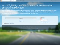 ==>LIVE_MMA_> WaTcH Thomson vs Henderson live Stre