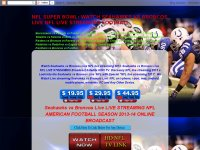 NFL SUPER BOWL: WATCH SEAHAWKS VS BRONCOS LIVE NFL LIVE STREAMING FOOTBALL
