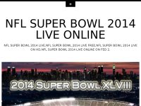 NFL SUPER BOWL 2014 LIVE ONLINE FREE ON PC TV