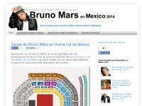 Superboletos primera fila bruno Mars
