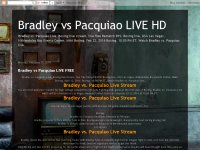 Bradley vs Pacquiao LIVE HD