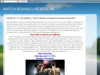 WaTcH Bradley vs Pacquiao live Stream Boxing 2014