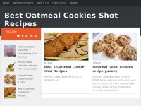 Best Oatmeal Cookies Shot Recipes
