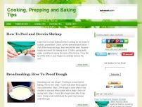 Cooking, Prepping & Baking Tips - Cooking Lessons.