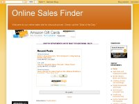 Online Sales Finder