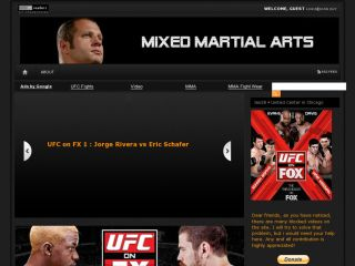 Mixed Martial Arts UFC VIDEOS