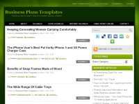 Business Plans Templates