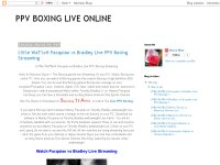 PPV BOXING LIVE ONLINE