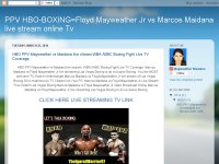 HBO PPV Mayweather vs Maidana live stream WBA /WBC