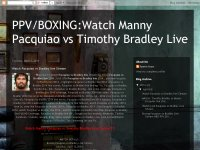 Watch Pacquiao vs Bradley live Stream