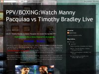 wAtCH: Timothy Bradley vs Manny Pacquiao live stre