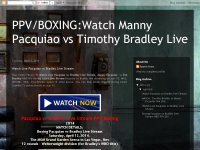 Watch Live Pacquiao vs Bradley Live Stream