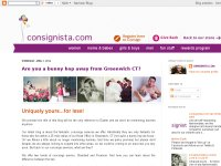 consignista.com and its thoughts on fashion and resale.