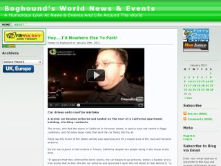 Boghound's World News & Events