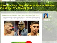 Mayweather vs Maidana live stream fight ShowTime M