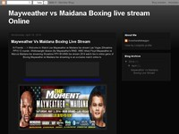 Mayweather vs Maidana Boxing live stream Online