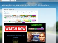 Mayweather vs Maidana Live Stream Fight Showtime
