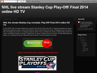 NHL live stream Stanley Cup  Play-Off/ Final