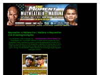 Maidana vs Mayweather Live Stream boxing hbo
