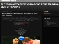 FLOYD MAYWEATHER VS MARCOS RENE MAIDANA LIVE STREAMING