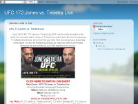 UFC 172:Jones vs. Teixeira Live