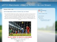 wATCH Manchester United vs Norwich City Live Strea