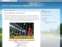 wATCh Southampton vs Everton Live 2014