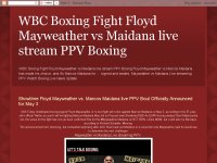 WBC Boxing Fight Floyd Mayweather vs Maidana live stream PPV Boxing