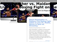 Mayweather vs. Maidana Live HBO Boxing Fight online