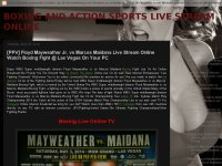 BOXING AND ACTION SPORTS LIVE STREAM ONLINE