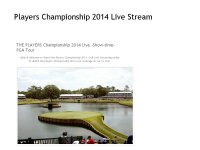 golf The Players Championship Live Stream hd tv