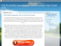 THE PLAYERS Championship - PGA Tour GOLF 2014 live